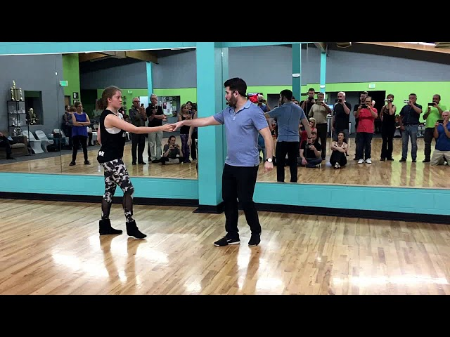 West Coast Swing - Ben Morris - intermediate/adv