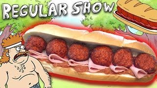 How to Make the DEATH SANDWICH from The Regular Show! Feast of Fiction S6 E5