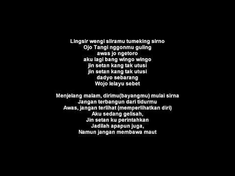 LINGSIR WENGI - LAGU PANGGILAN UNTUK ???