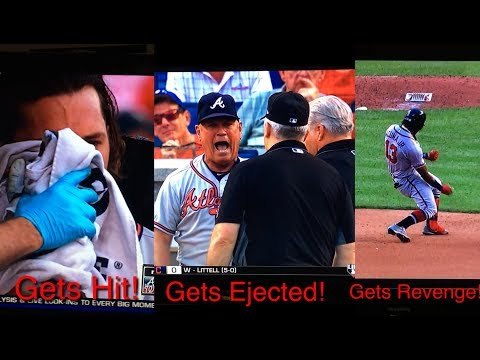 Culberson Hit in the face tragic GAME