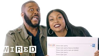 Video Taraji P. Henson & Tyler Perry Answer the Web's Most Searched Questions | WIRED MP3, 3GP, MP4, WEBM, AVI, FLV Juli 2018