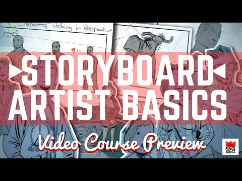 [PREVIEW] Everything You Need to Become a Storyboard Artist