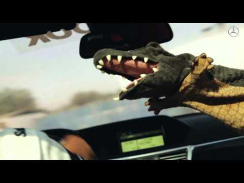 درفت التمساح مع سعيد الموري في سيارة مرسيدس AMG