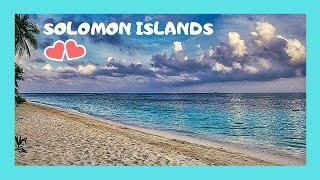 SOLOMON ISLANDS, landing in Ghizo (Pacific Ocean): Here's my flight in the Solomon Islands in the Pacific Ocean from the...