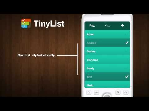 Video of TinyList