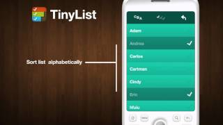 TinyList YouTube video
