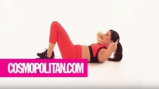 Get A Flat Stomach in 5 Minutes: Week 1 | Cosmopolitan