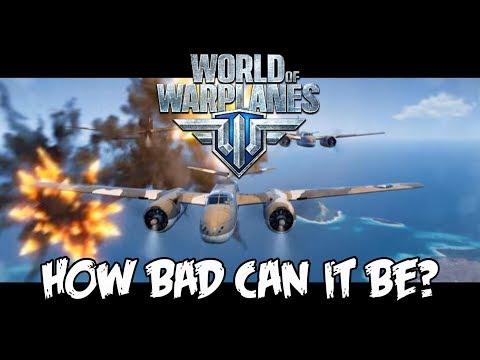 World of Warplanes 2.0 - How Bad Can It Be? (видео)