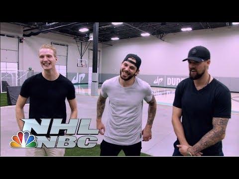 Video: Seguin, Benn, Klingberg battle with Dude Perfect I NHL I NBC Sports