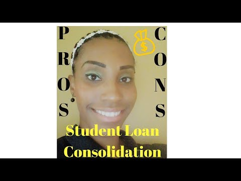 Pros and Cons Federal Student Loan Consolidation