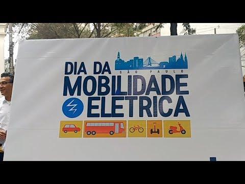 Dia da Mobilidade Elétrica em São Paulo