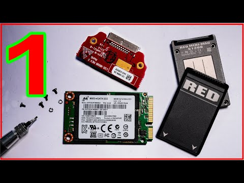 RED MINI-MAG - Things You Only Thought You Knew. Inside View, And RED SSD Firmware