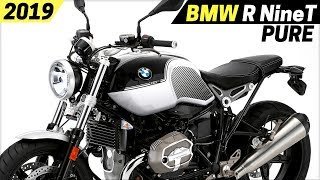 2. NEW 2019 BMW R NineT Pure - New Paint Schemes And Dynamic Brake Light