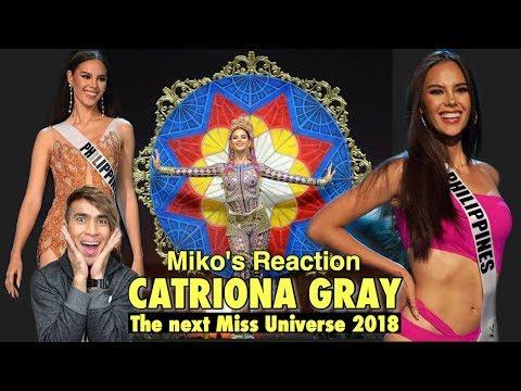 Catriona Gray Full Performance  | Miss Universe 2018 NatCos & Prelims | Miko Pogay's Reaction Video