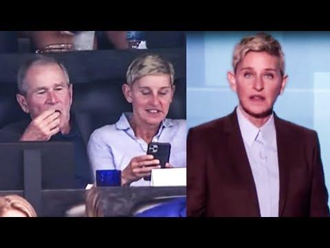 Ellen Begs Her Fans To Understand Her George W. Bush Friendship