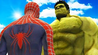 BIG HULK VS SPIDERMAN - THE INCREDIBLE HULK VS SPIDER-MAN (2002)