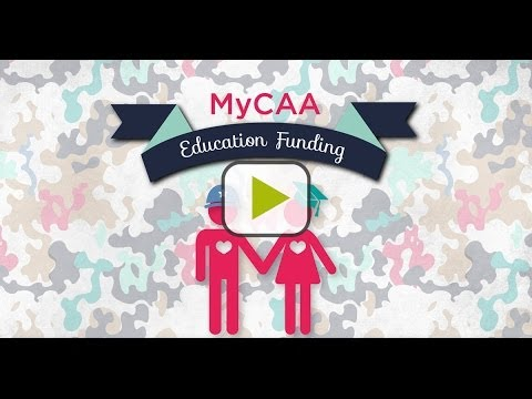 MyCAA Military Spouse Education Funding