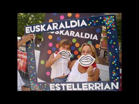 Euskaraldia: Lizarrako festak (видео)