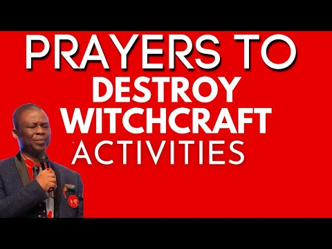 Dr Olukoya - Prayers To Destroy Witchcraft Activities Pt 1