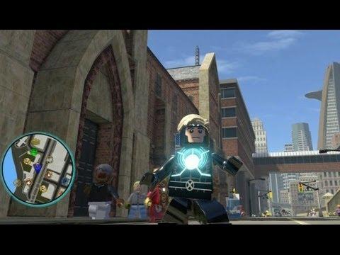 LEGO Marvel Super Heroes Walkthrough - Emma Frost Unlocked ...