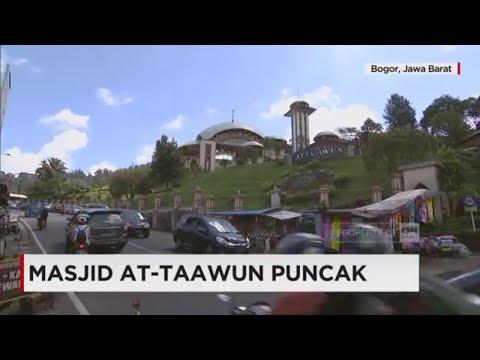 Beribadah & Menikmati Pemandangan Indah Masjid At-Taawun Puncak
