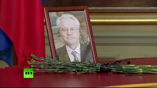 Лавров и глава МИД Швеции начали рабочую встречу с почтения памяти Чуркина