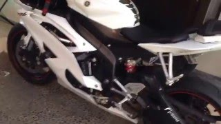 7. 2010 Yamaha R6 US spec w/ Akrapovic Carbon full system (Indonesia)