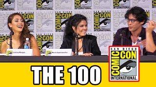 The 100 Comic Con 2017 panel Season 5 news & highlights with Eliza Taylor, Bob Morley, Marie Avgeropoulos, Lindsey Morgan,...