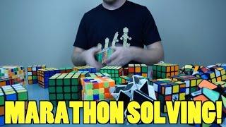 Marathon Solve Time Lapse