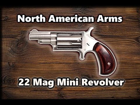 REVIEW: North American Arms Mini Revolver 22LR /22 Mag WMR. Which ammo is best?