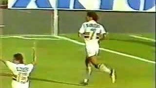 Segunda partida da final do paulistão de 1985 gol de Müller