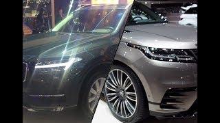 Volvo XC90 vs Range Rover Velar