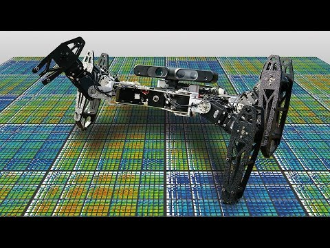 Break this robot's leg, and it will learn how to walk again in under a minute.