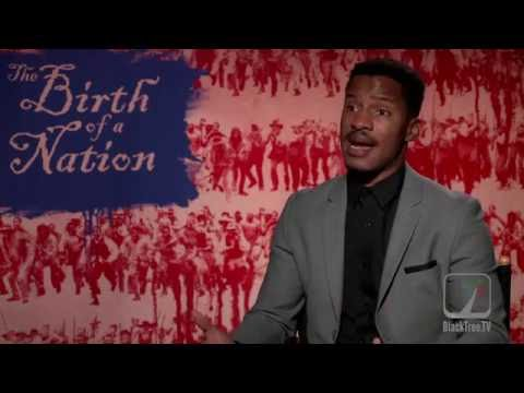 "Nate Parker Movie Interview for ""The Birth of a Nation"""