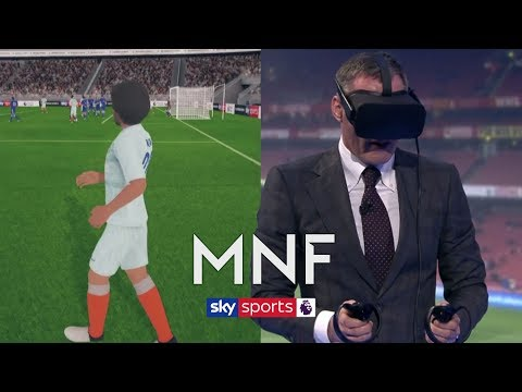 Jamie Carragher Defends Officials Using Virtual Reality To View Azpilicueta's Offside Goal | MNF