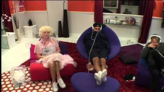 big brother 2013 CBB 2013 Day 13 PART ONE - (Celebrity Big Brother Wed 04 Sept 2013)