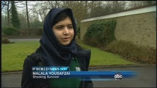 Malala Yousafzai Returns to School