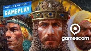 11 Minutes of Age of Empires 2 Definitive Edition Gameplay - Gamescom 2019 by IGN