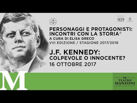 Teatro Manzoni / Video / J.f. Kennedy: Colpevole O Innocente?