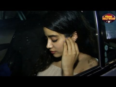 Did Jhanvi Kapoor Try To Flirt With Ranbir Kapoor