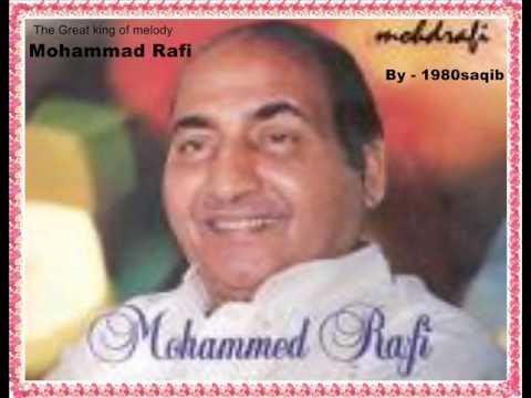 Mohammad Rafi - Jaane Kahan Gayi Dil Mera Le Gayi..