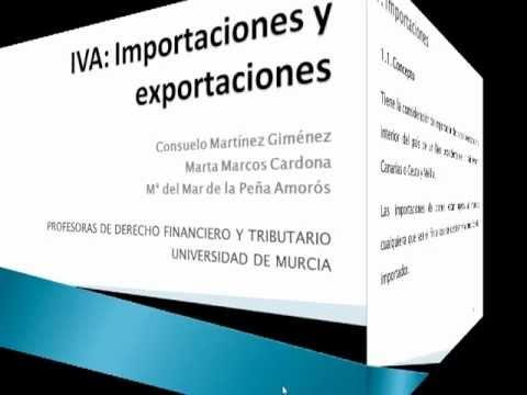 Operaciones exteriores: importación y exportación