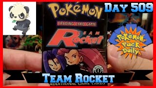 Pokemon Pack Daily FIRST EDITION Team Rocket Booster Opening Day 509 - Featuring Poke Panda by ThePokeCapital