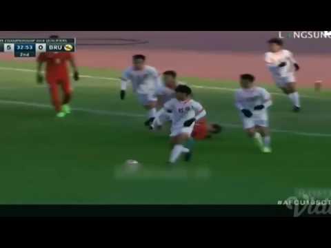 Indonesia vs Brunei Darussalam 5-0 ● All Goals & Highlights ✔ AFC U-19 Qualifiers