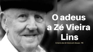 Enterro Zé Vieira, ex-prefeito de Bacabal