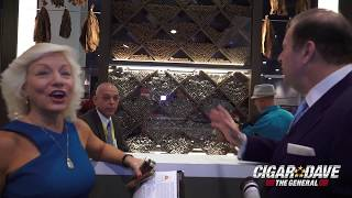 Cigar Dave and Janelle Rosenfeld give you an exclusive, behind the scenes tour of the Altadis Booth at IPCPR 2017 in Las...