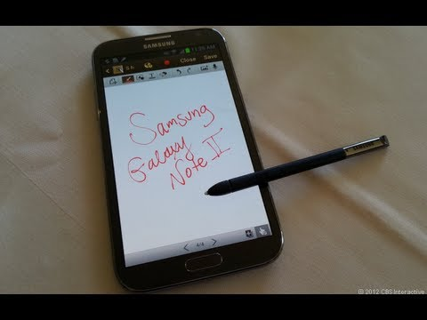 Samsung Galaxy Note II (GT-N7100) Review
