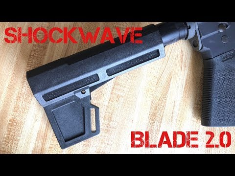 Shockwave Blade 2.0 Pistol Brace Overview