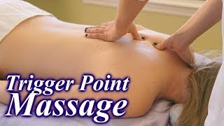 Video How To Do Trigger Point Massage Therapy Techniques, Back Pain Relief Massage ASMR MP3, 3GP, MP4, WEBM, AVI, FLV Januari 2019