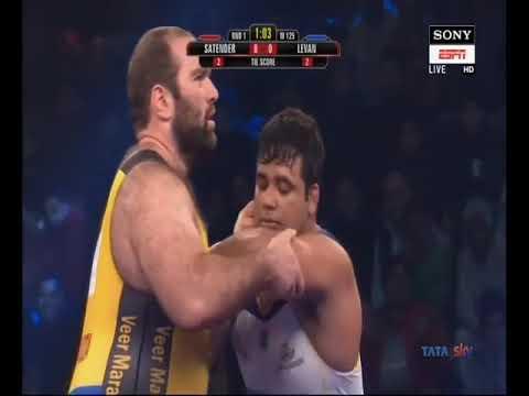 Satendrer Malik VS Levan Beriandze